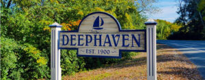 Deephaven is a neighborhood near 55391