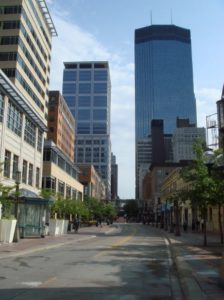Downtown West is a neighborhood near Minneapolis Minnesota