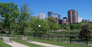 Loring Park is a neighborhood near Minneapolis MN